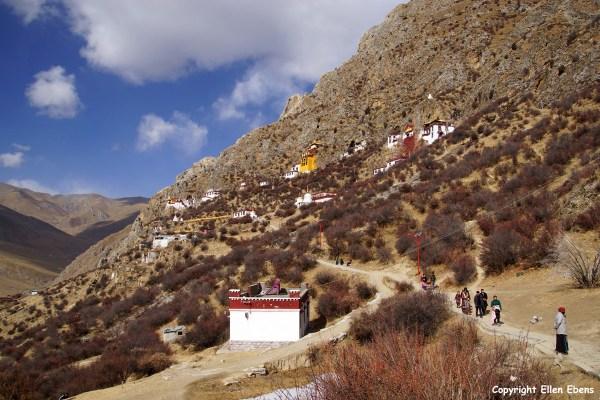 Drak Yerpa Meditation Caves