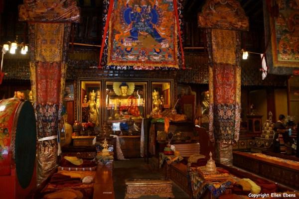 Inside the Tandruk Temple