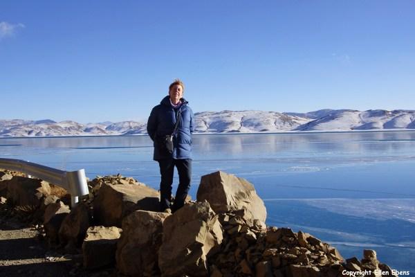 Me at Lake Yamdruk Tso