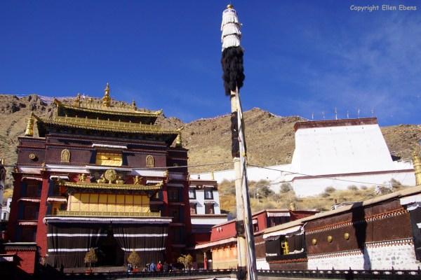 The Tashilhunpo Monastery at Shigatse