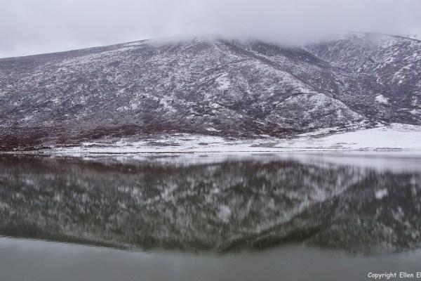 Derge Yushu reflecions lake