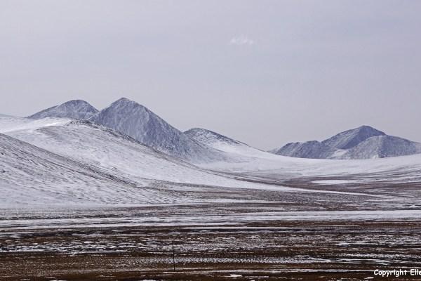 Amdo landscape snow