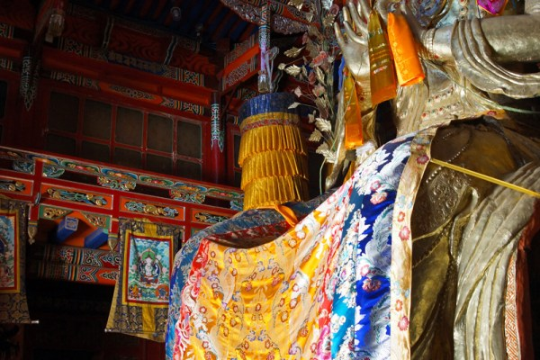 Amdo Ziketan Xinghai Monastery Serdzong statue