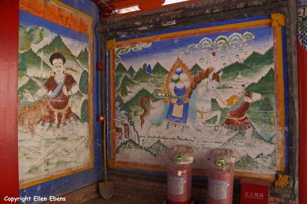 Amdo Ziketan Xinghai Monastery Serdzong paintings
