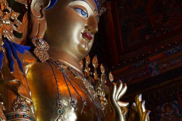Rebkong Longwu Monastery statue