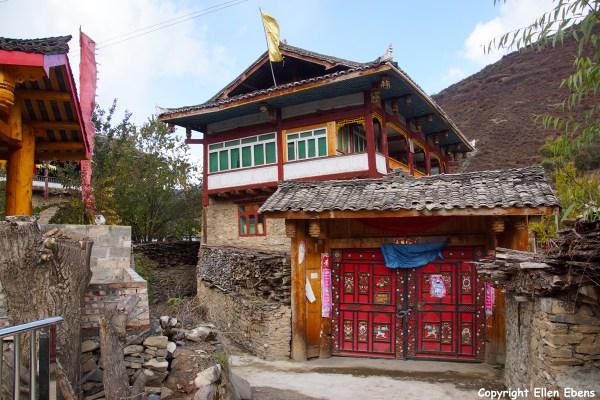 Songpan Tibetan village