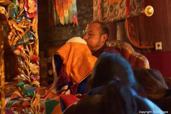 Sakya Monastery conch