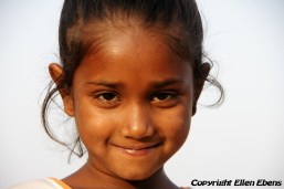 Young girl at Gwalior