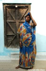 Proud woman at Khajuraho