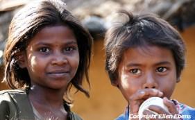 Children at Pachmarhi