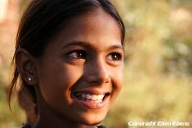 Girl at Pachmarhi