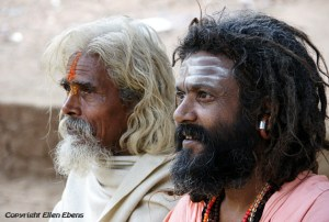 Sadhus at Pachmarhi