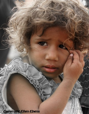 Girl in the city of Bhopal