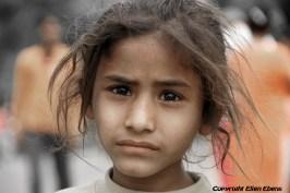 Girl at the city Ujjain