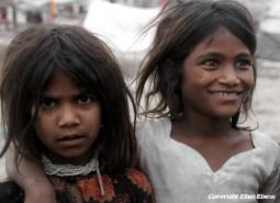 Girls at the city of Ujjain