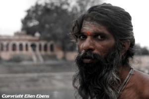 Sadhu at the city of Ujjain