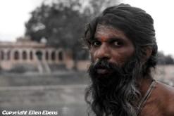 Sadhu at the city of Ujjain