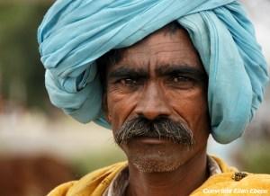 Semi-nomadic man