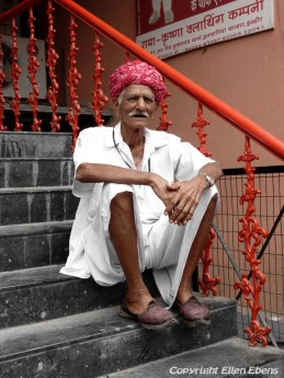 Man in the city of Indore