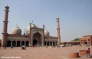 The Jama Mashid Mosque, Delhi