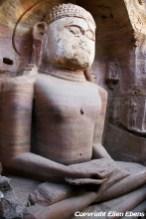 Jain Temple with rock sculptures of Gwalior Fort