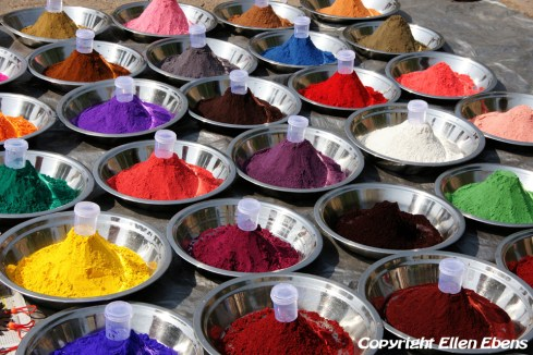 Powder in all colours, Orccha