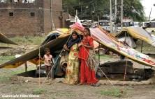 Trekking semi-nomads