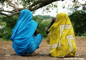 Two women chatting, Maneshwar