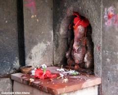 Little sanctuary for the god Ganesha, Maneshwar