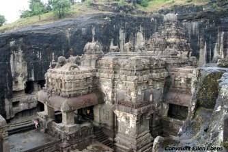 Ellora: the famous Kailasa Temple
