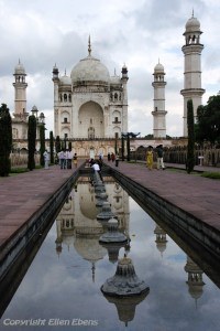 The Bibi Ka Maqbara in the city of Aurangabad, also called the poor man's Taj