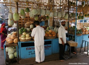 The market of the city of Bijapur