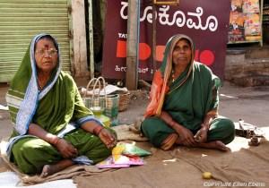 Women in the city of Bijapur