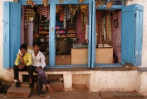 A little shop in Badami