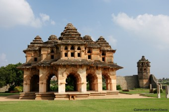 The Lotus Mahal, Hampi