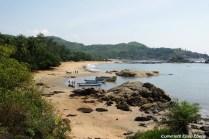 One of the beaches of Gokarna