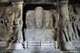 Temple on Elefanta Island near Mumbai