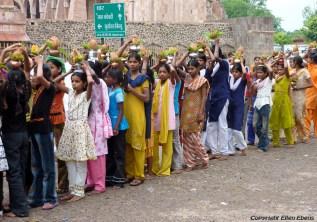 Procession in Mandu