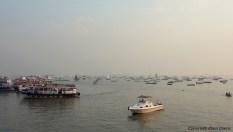 The sea at the city of Mumbai
