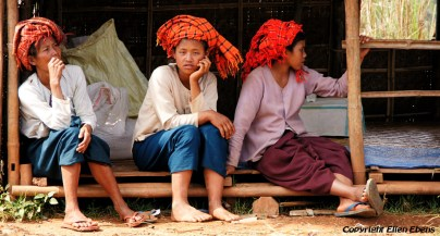 Inle Lake, local women