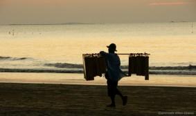 Sunset at Chauntha Beach