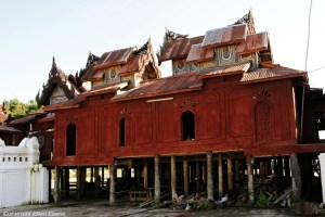 Inle Lake, the Shwe Taunghwe Kyaung Monastery