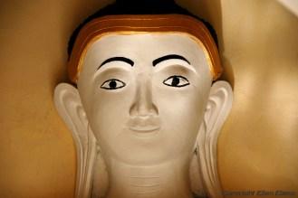 Kakku, Buddha statue at the forest of ancient stupas