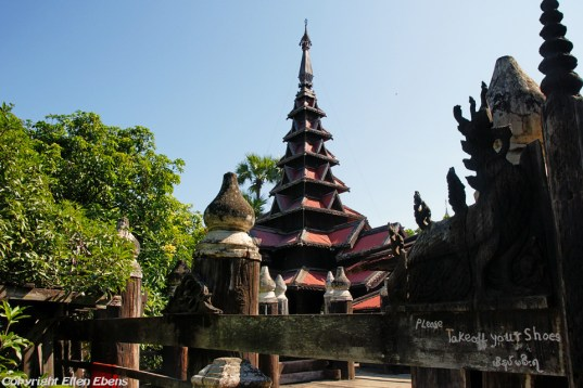 Ava, the teak wood Bagaya Monastery