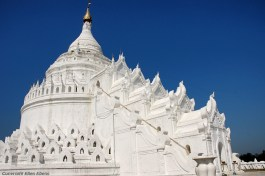 Mingun, the Hsinbyume Pagoda