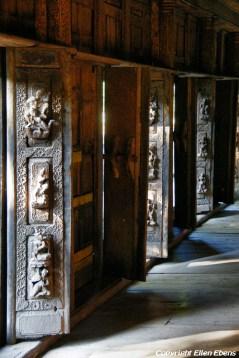 Mandalay, the Shwenadaw Kyaung Monastery