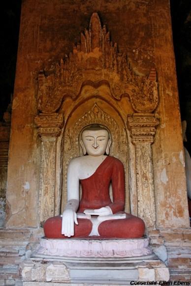Bagan, Buddha at the Shwezigon Pagoda