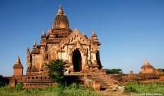 Bagan, the Shweleiktoo Pagoda