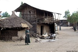 Ethiopia village