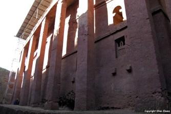 Harar rock-hewn church Bete Medhane Alem